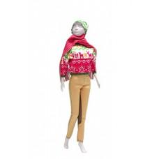 Kathy Pink kledingset, Dress your Doll