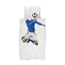 Dekbedovertrek Soccer Champ blauw, Snurk