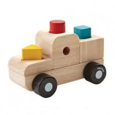 Sorteerpuzzel truck, Plan Toys