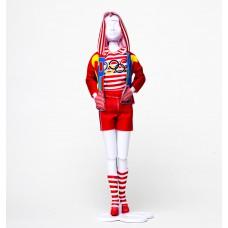 Sporty Olympic kledingset, Dress Your Doll