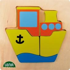 Mijn Eerste Puzzel Schip, Lena