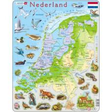 Educatieve puzzel Nederland, Larsen