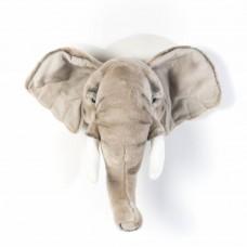 Dierenkop olifant George, Wild & Soft