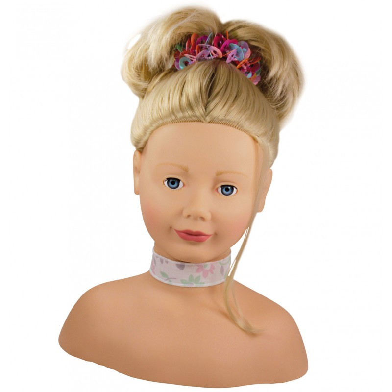 Opmaakpop blond haar, Goetz