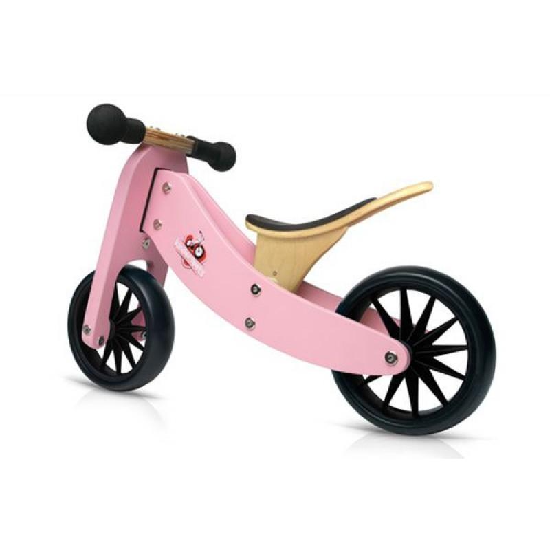 Tiny Tot 2-in-1 loopfiets roze, Kinderfeets