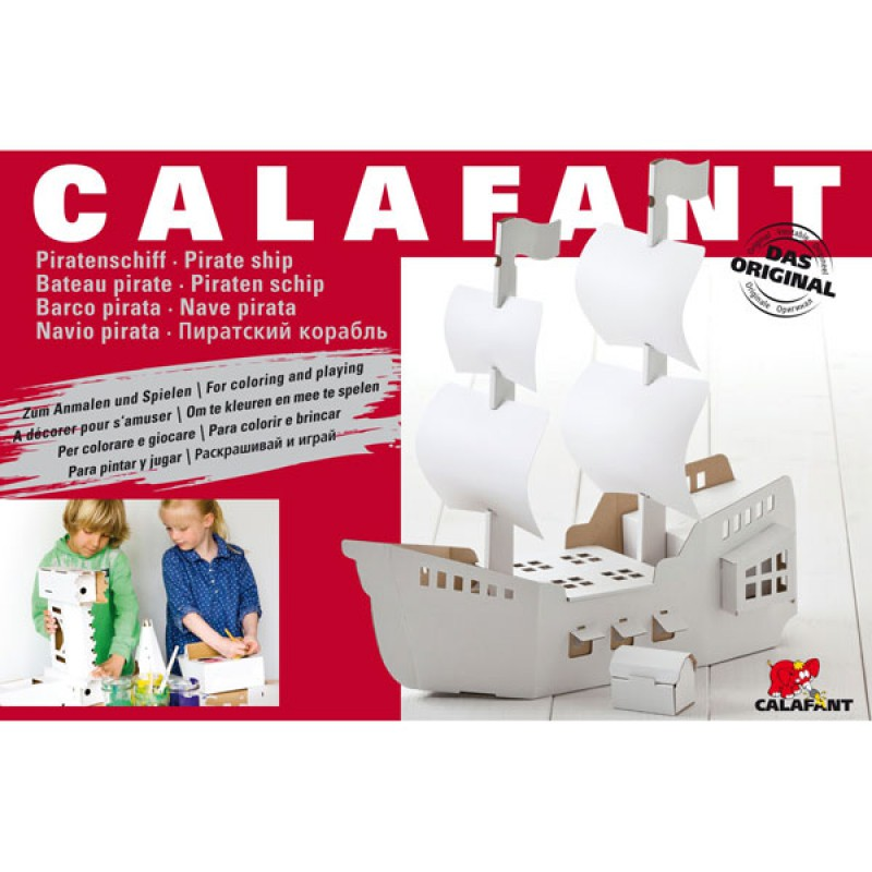 Bouwpakket piratenschip, Calafant level 3