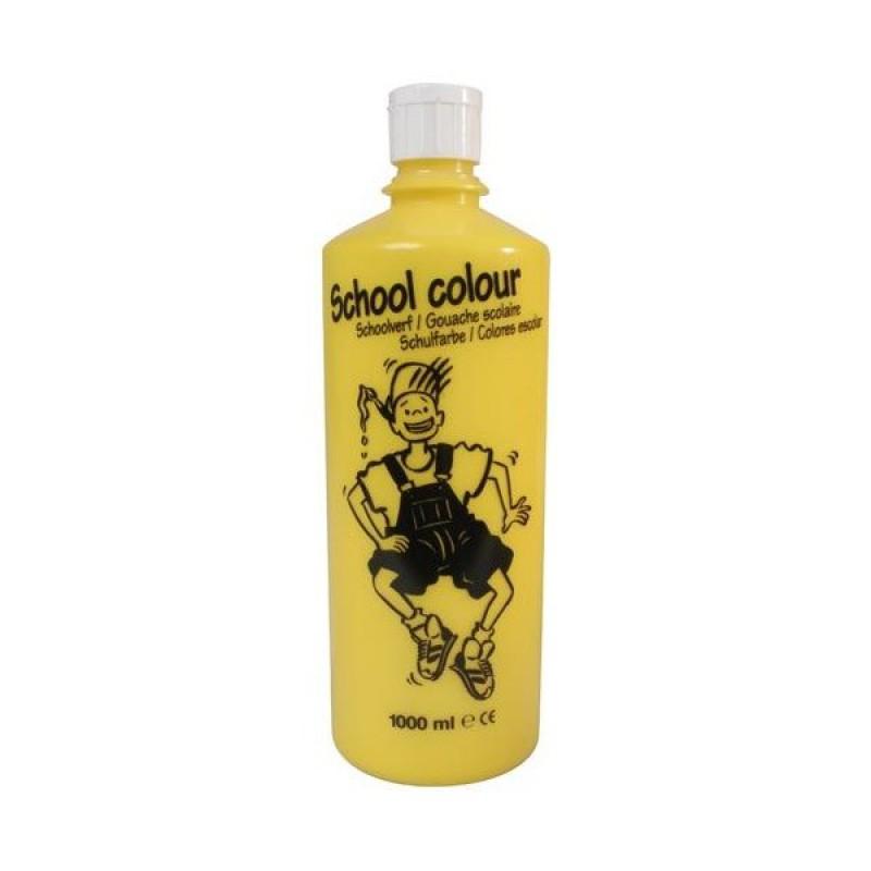 Talens schoolverf geel, 1 liter