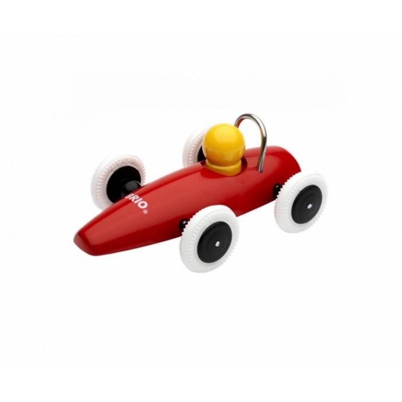 Racewagen rood, Brio