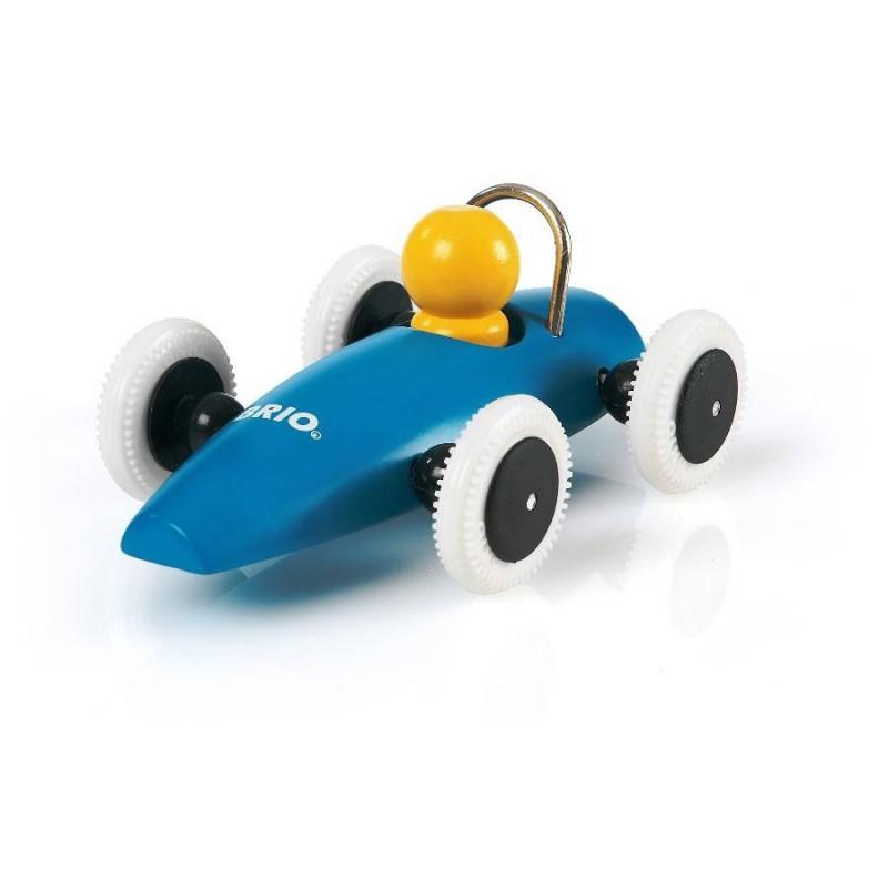 Racewagen blauw, Brio