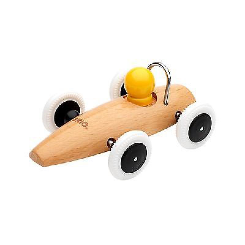 Racewagen blank hout, Brio