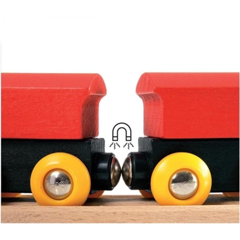 Klassieke houten treinset, Brio
