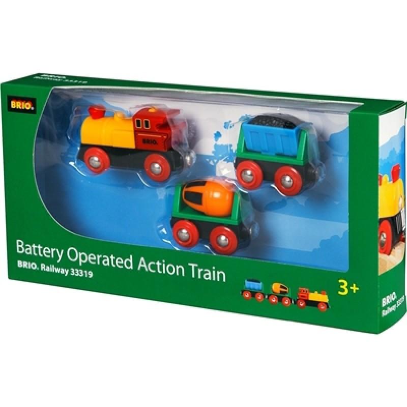 Actietrein op batterij, Brio