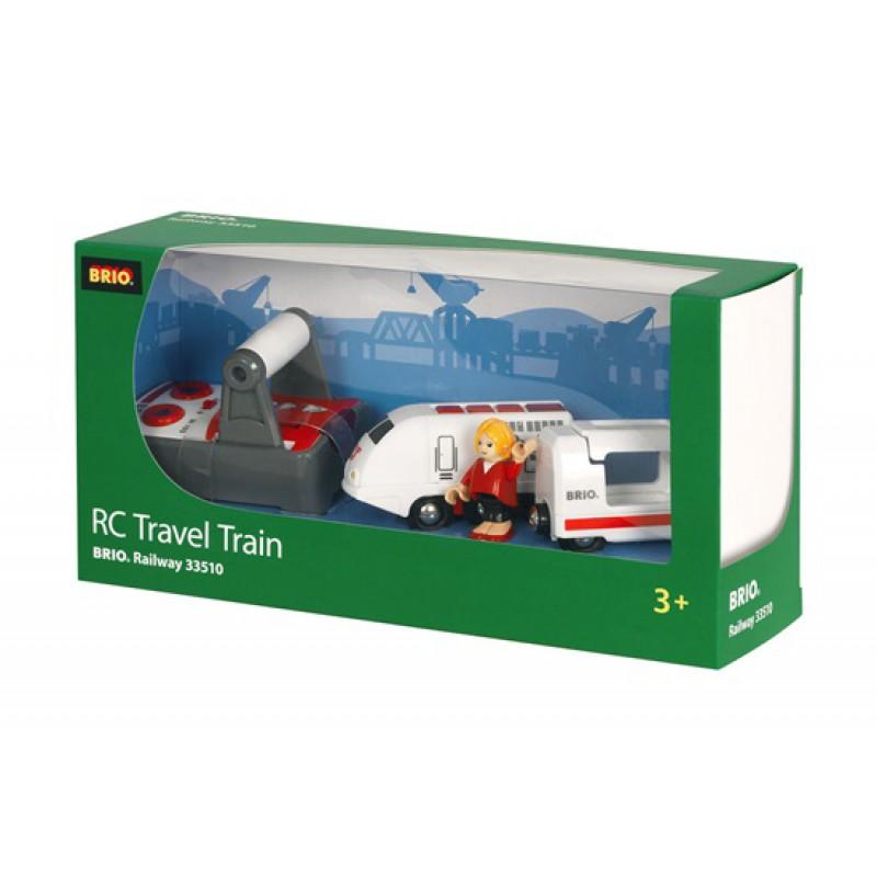 RC trein + wagon met afstandsbediening, Brio