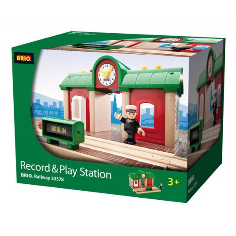 Record & Play Station, Brio
