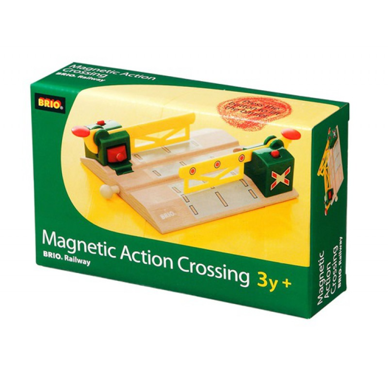 Magnetische actie overweg, Brio