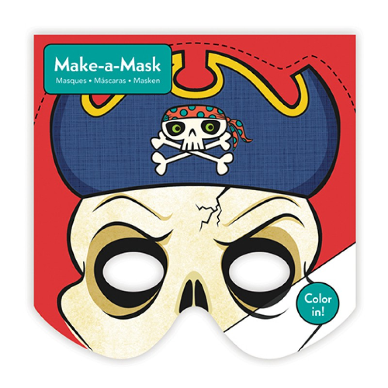 Make-a-Mask Piraten, Mudpuppy