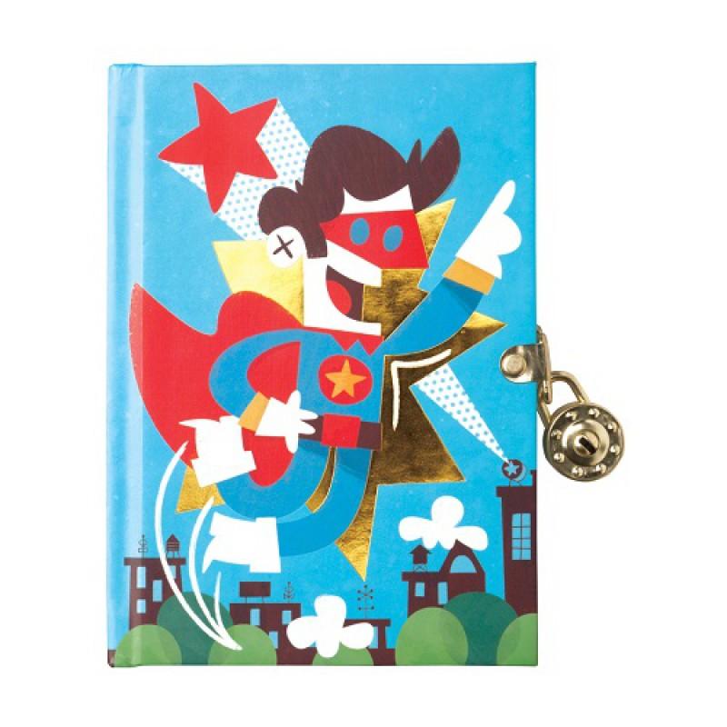 Dagboek met slot Superheld, Mudpuppy