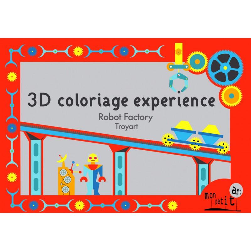 Robotfabriek 3D kleurplaten, Mon Petit Art