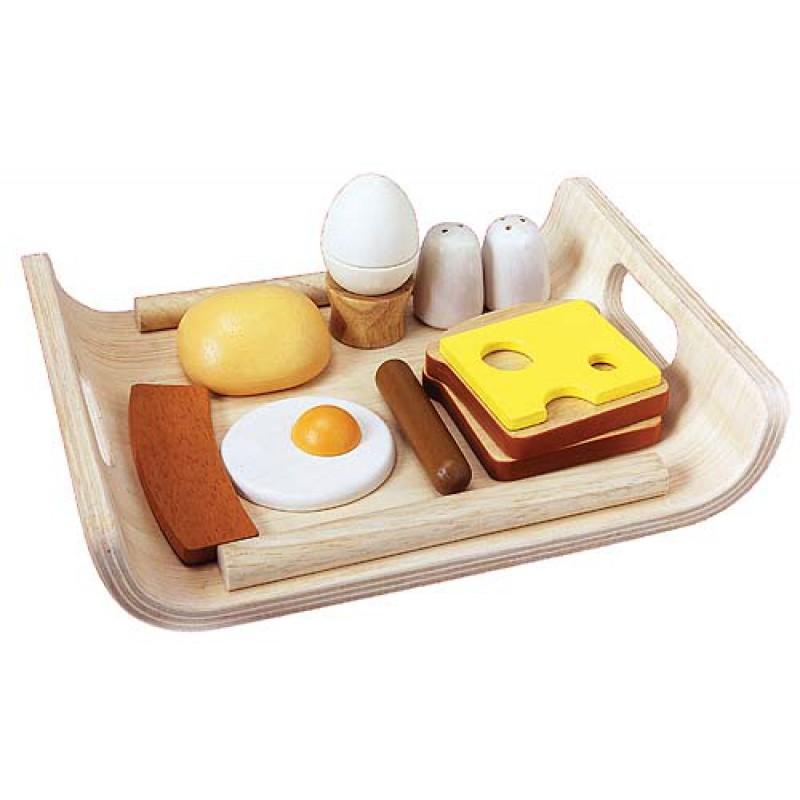 Ontbijt op dienblad, Plan Toys