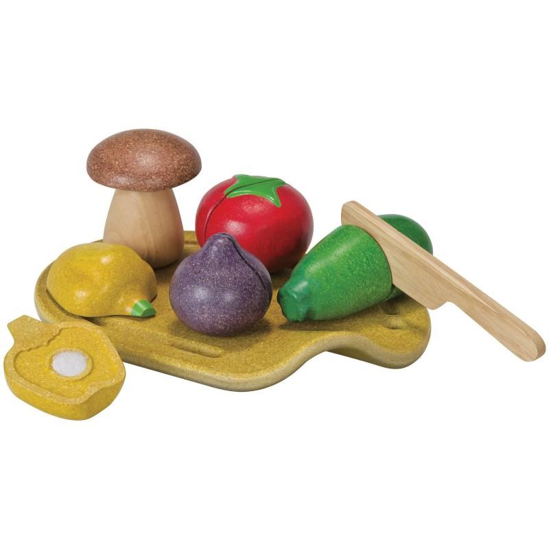 Snijset groente, Plan Toys