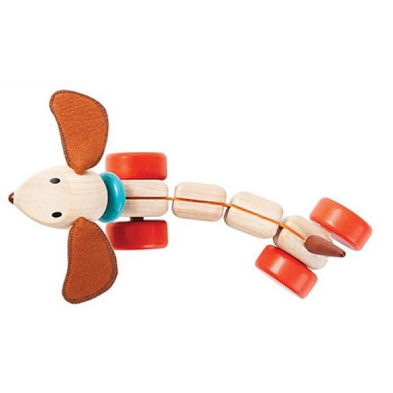Trekdier Happy Puppy, Plan Toys