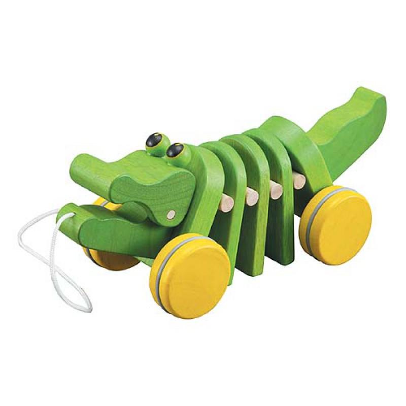 Dancing alligator, Plan Toys