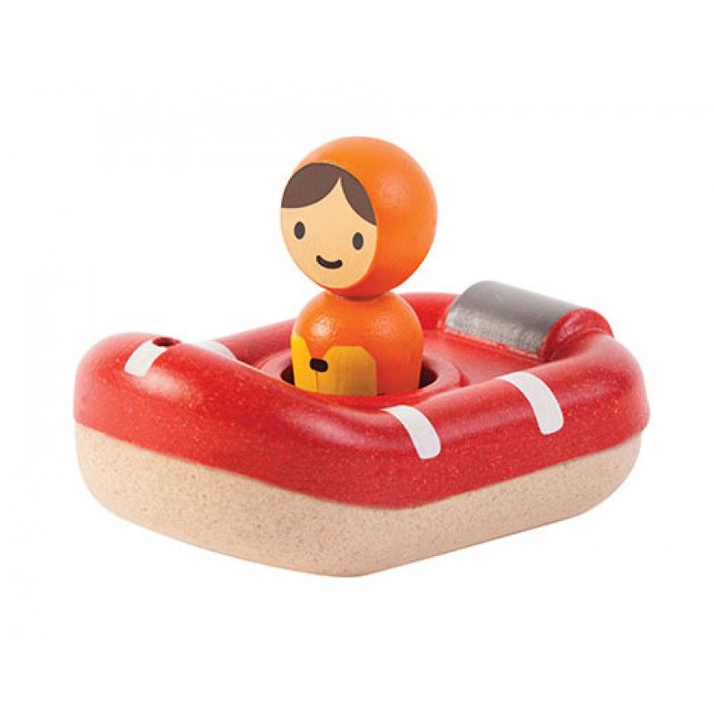 Reddingsboot, Plan Toys