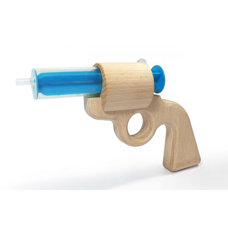 Houten waterpistool Aqua Joe