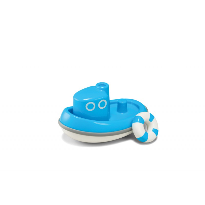 Sleepboot blauw, Kid O