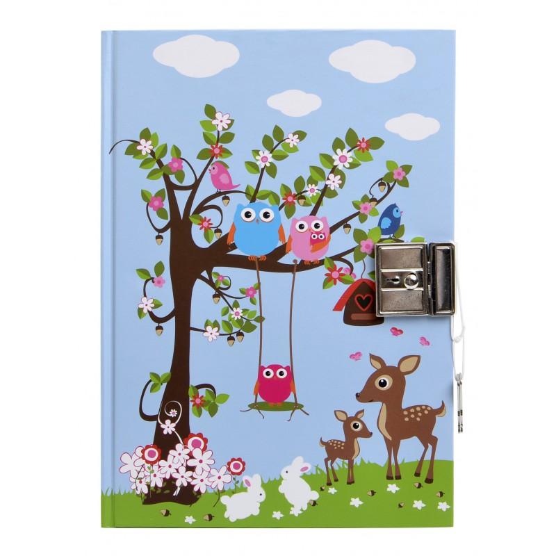 Dagboek met slot Woodland, Bobble art