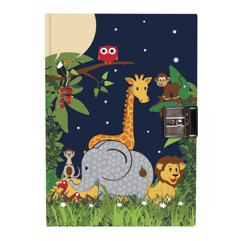 Dagboek met slot Jungle, Bobble art