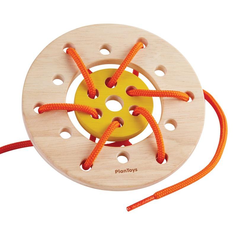 Rijgbord ring, Plan Toys