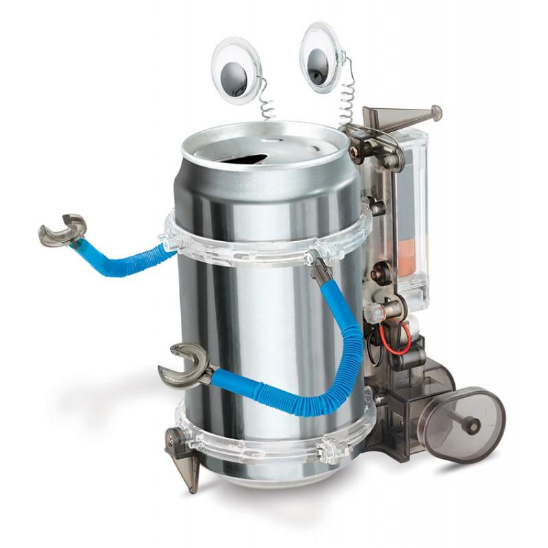 Bouw een robot van een blikje, 4M KidzLabs