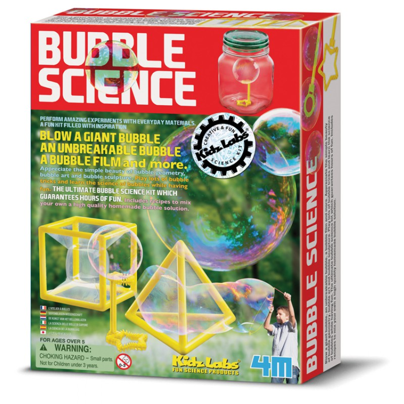 Bubble Science, 4M KidzLabs
