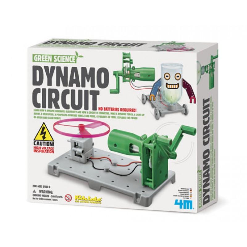 Dynamo Circuit, 4M KidzLabs