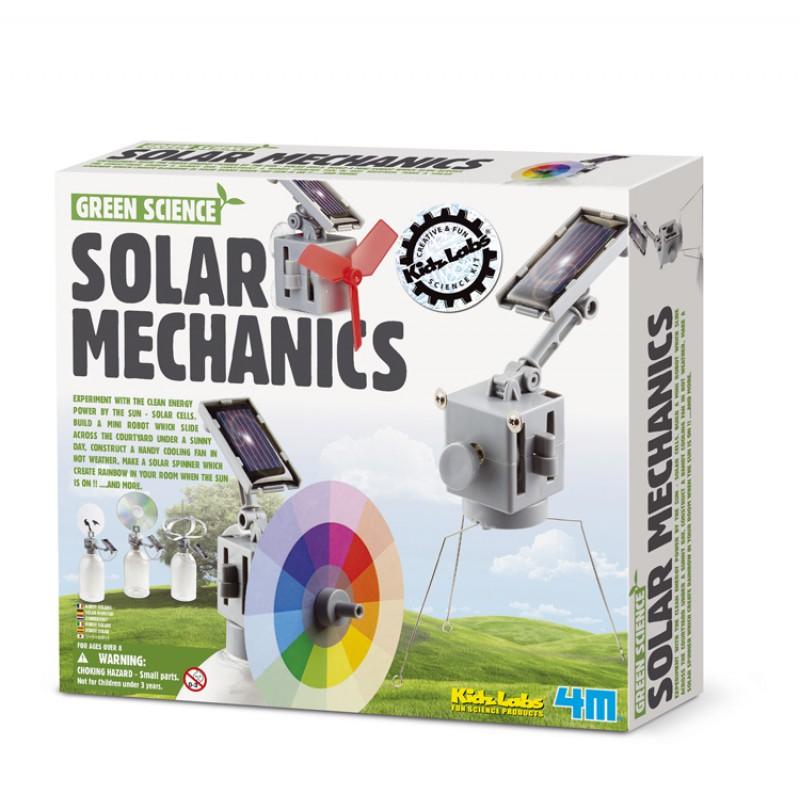 Solar Mechanics science kit, 4M KidzLabs