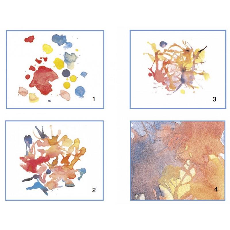Aquarelverf 6 kleuren, Stockmar