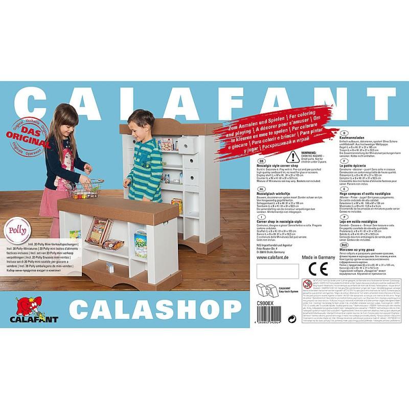 Calashop bouwpakket winkel, Calafant