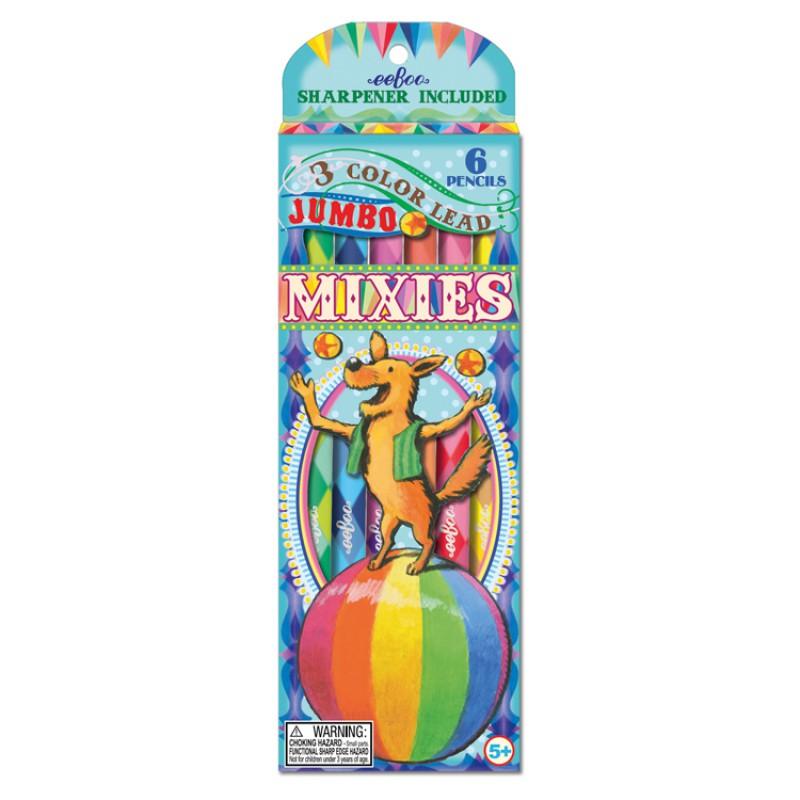 Jumbo kleurpotloden Circus, Eeboo