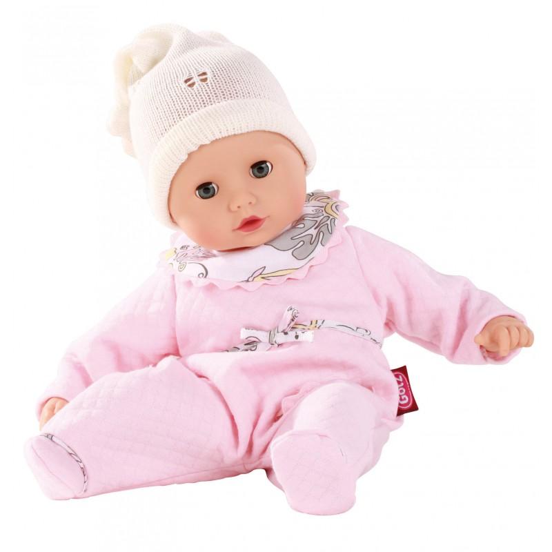 Babypop met lichtroze pakje, Goetz Muffin - S