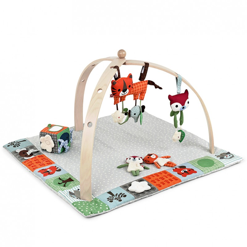 BabySpider activity gym blank hout, Franck & Fischer