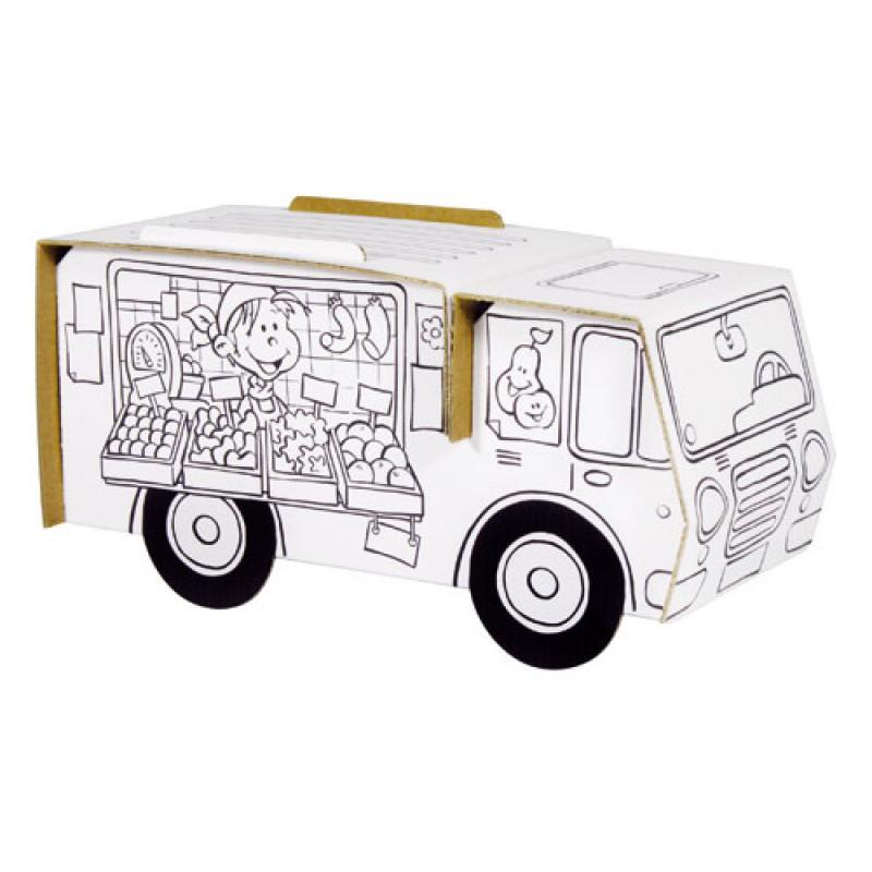 Bouwpakket marktwagen, Calafant level 1
