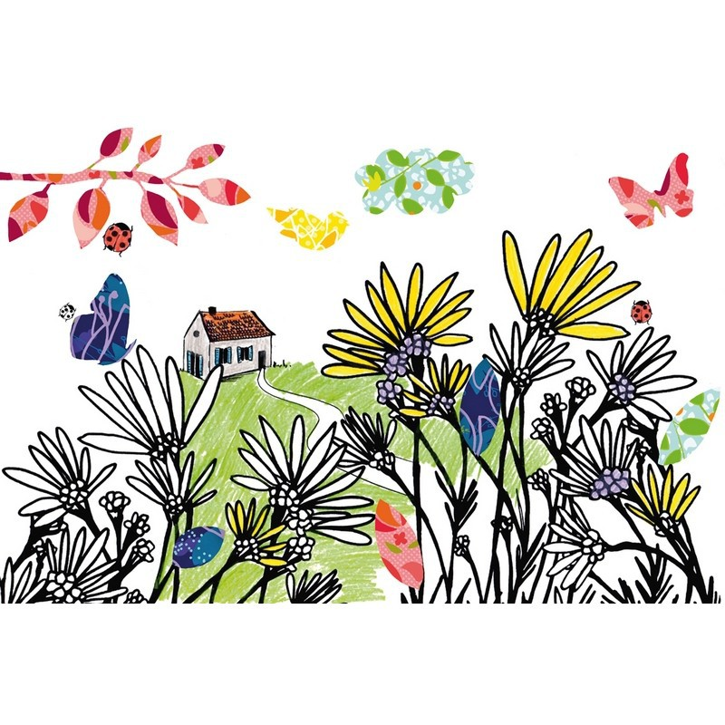 Kleur- en plakboek Seizoenen, Mon Petit Art