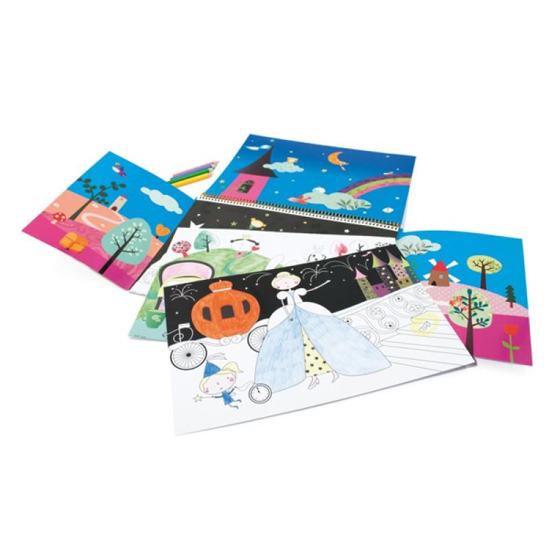 Kleurboek Sprookjes, Mon Petit Art