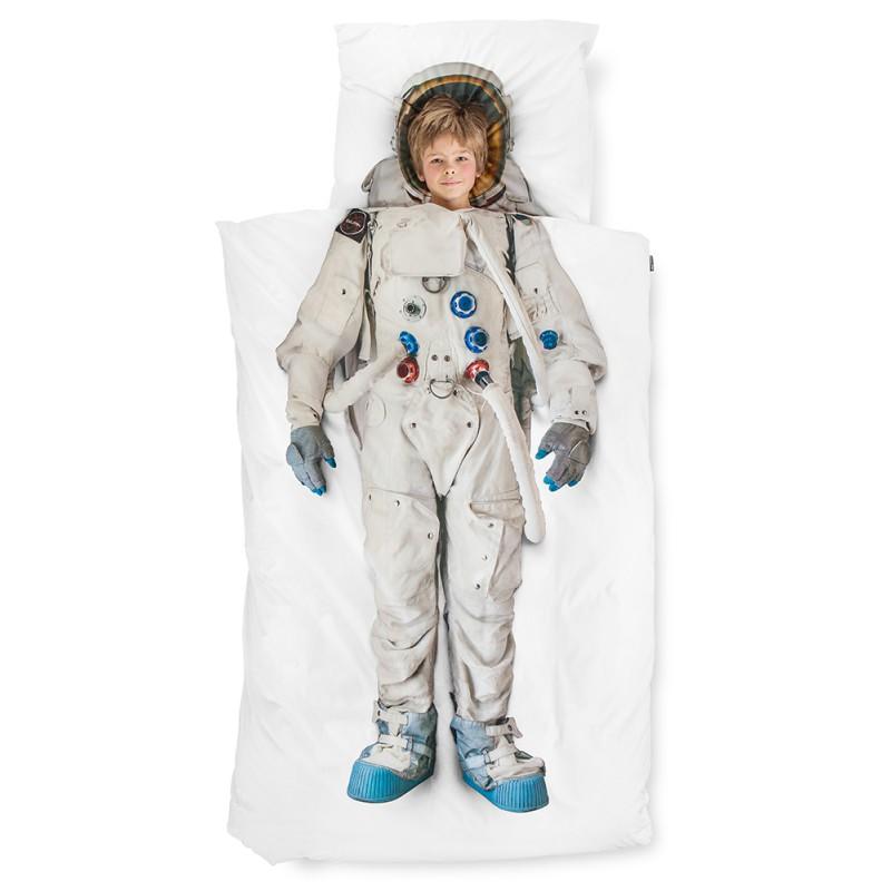 Dekbedovertrek Astronaut, Snurk | www.3vosjes.nl