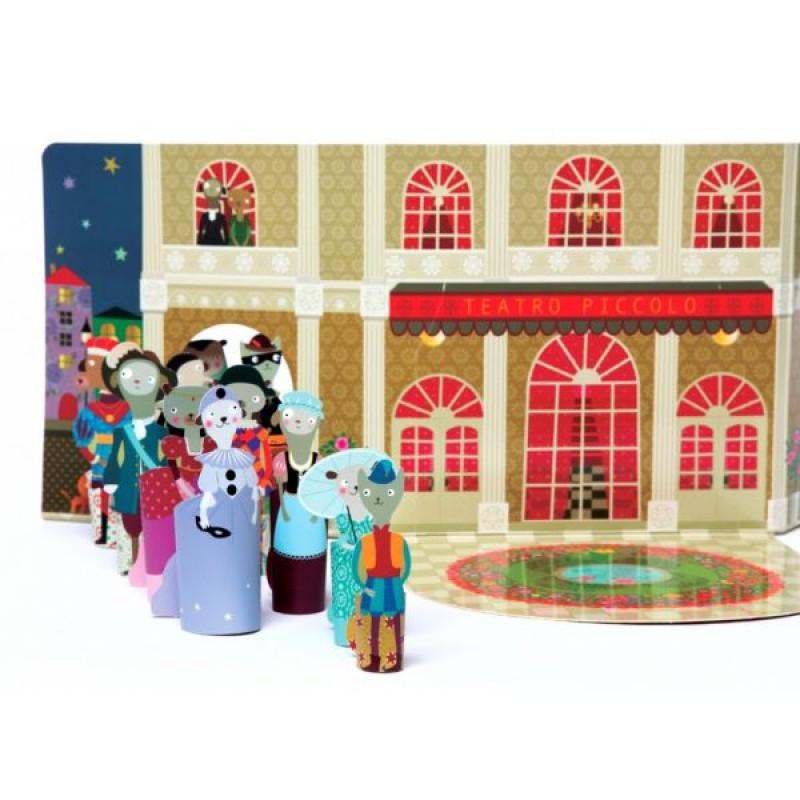 Dolls Scenario Teatro Piccolo, Mon Petit Art