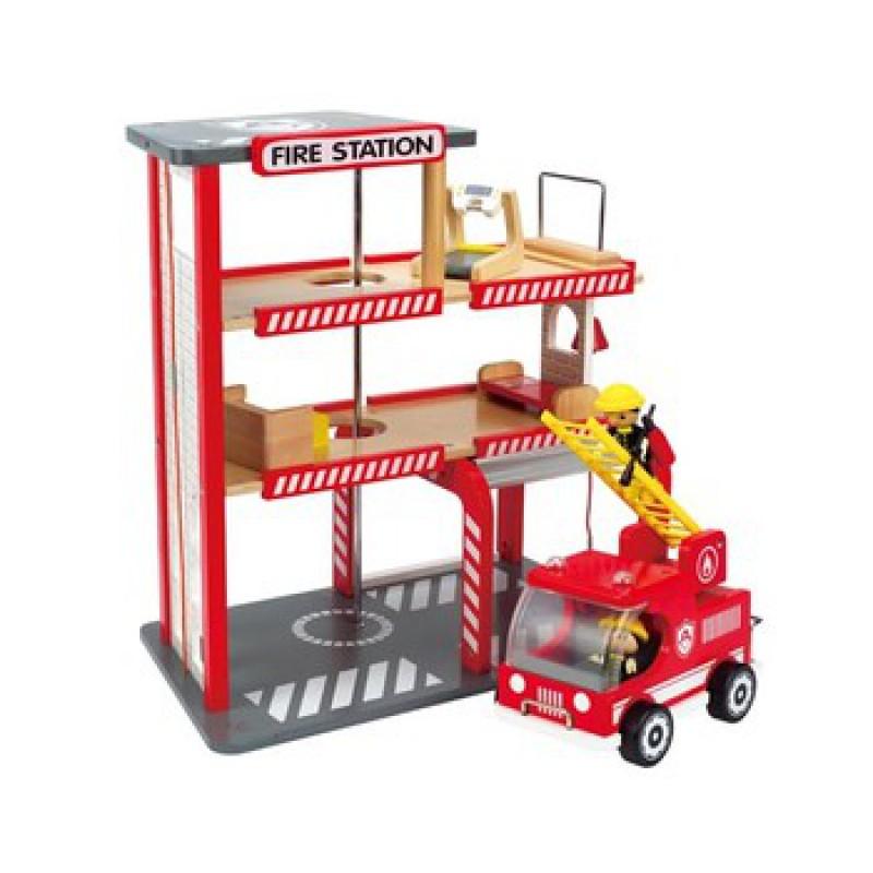 Brandweerkazerne gemeubileerd, Hape