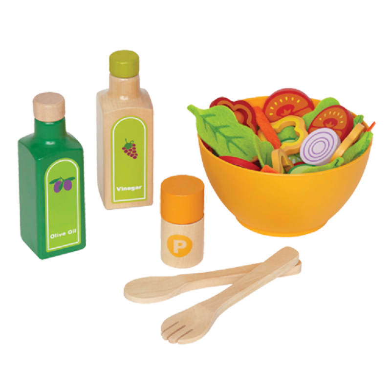 Groene salade set, Hape
