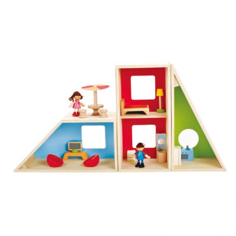 Geometrics poppenhuis, Hape