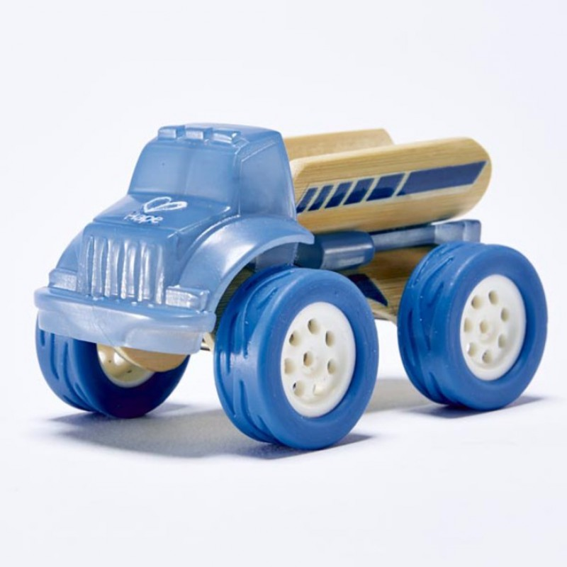 Bamboe auto Pickup Truck, Hape